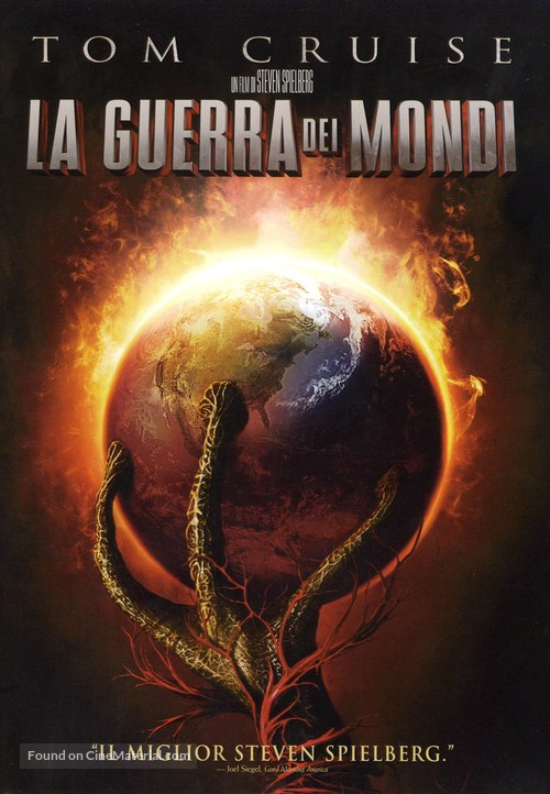 War of the Worlds - Italian Movie Cover