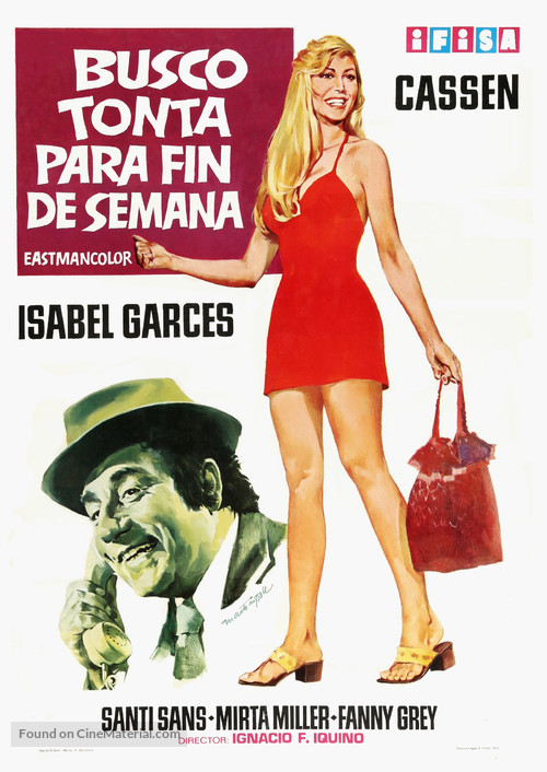 Busco tonta para fin de semana - Spanish Movie Poster