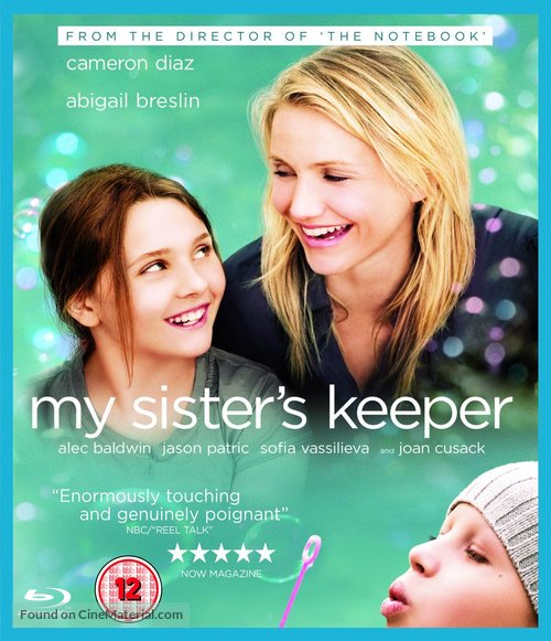 My Sister's Keeper - British Movie Cover