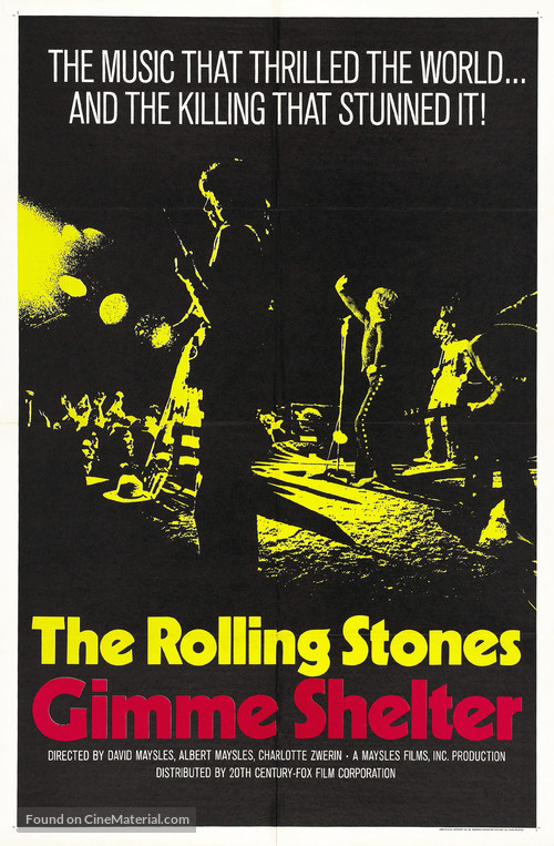 Gimme Shelter - Theatrical poster