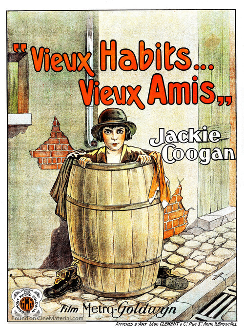 Old Clothes - Belgian Movie Poster