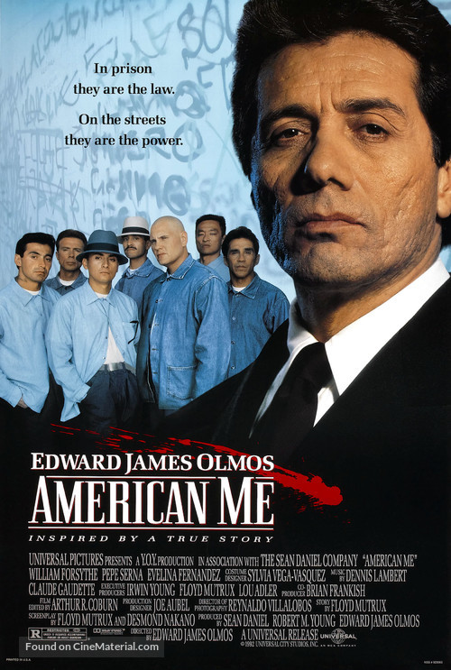 American Me - Movie Poster