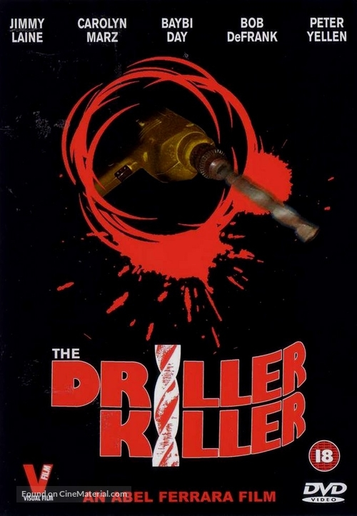 The Driller Killer - British Movie Cover