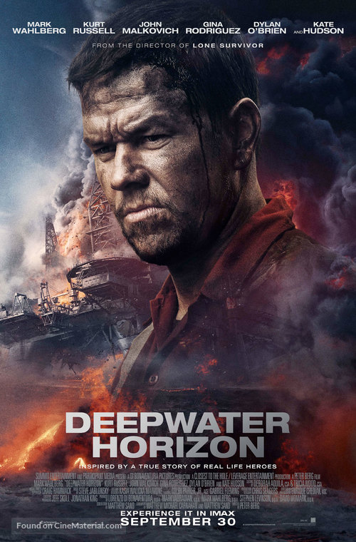 Review: Deepwater Horizon – The Reel Bits |Deepwater Horizon Movie Poster