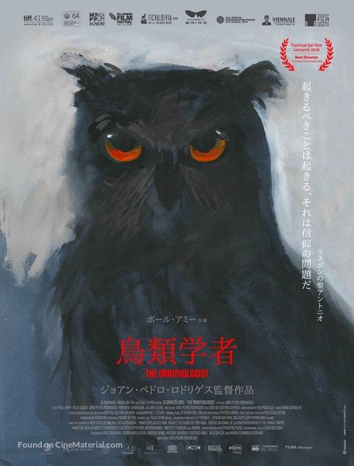 O Ornitólogo - Japanese Movie Poster