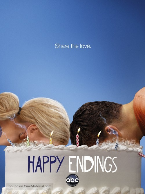 """Happy Endings"" - Movie Poster"