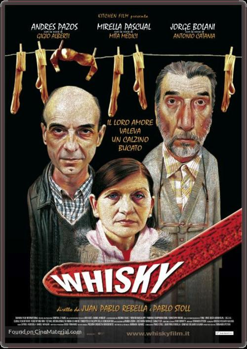 Whisky - Italian Movie Poster