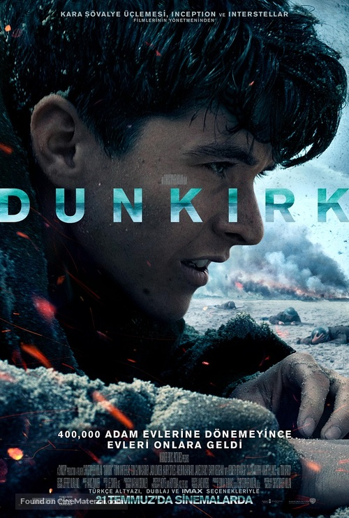 Dunkirk - Turkish Movie Poster