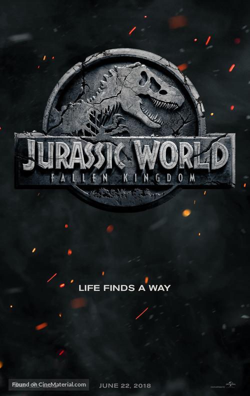 Jurassic World: Fallen Kingdom - Teaser movie poster