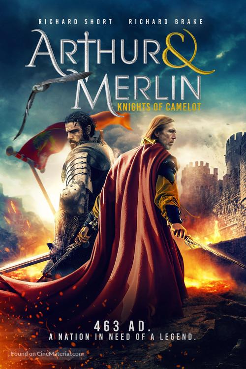 Arthur & Merlin: Knights of Camelot - British Movie Cover