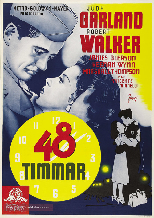 The Clock - Swedish Movie Poster