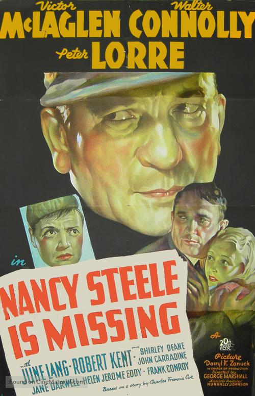 Nancy Steele Is Missing! - Movie Poster