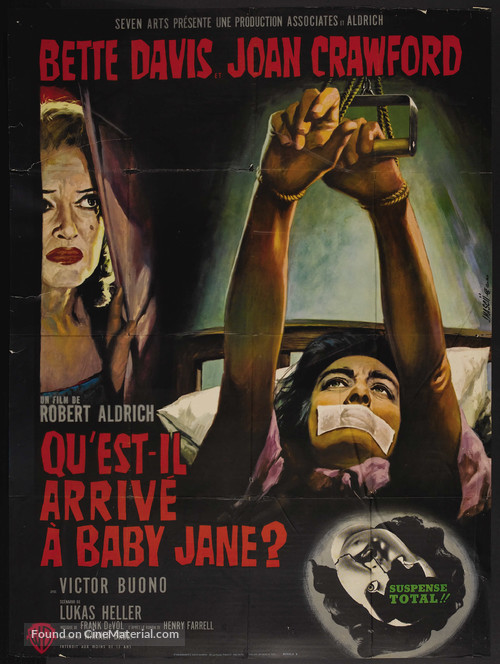 What Ever Happened to Baby Jane? - French Movie Poster
