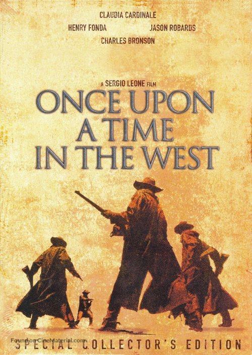 C'era una volta il West - DVD movie cover