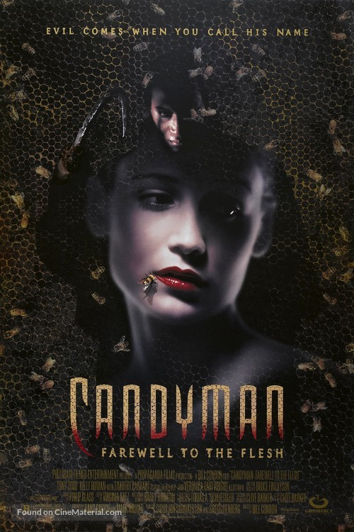 Candyman: Farewell to the Flesh - Movie Poster
