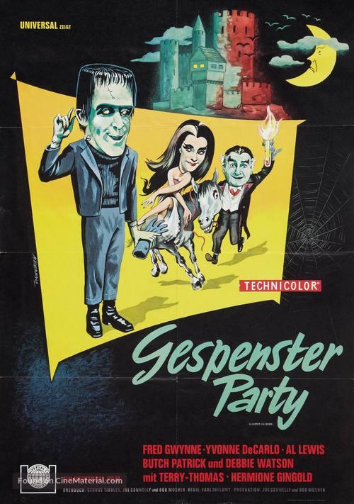 Munster, Go Home - German Movie Poster