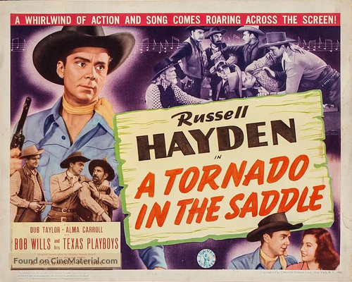 A Tornado in the Saddle - Movie Poster