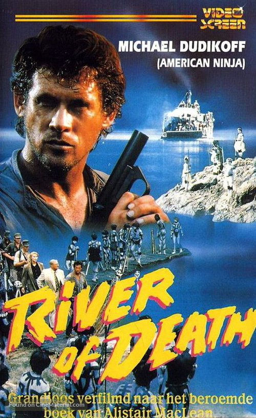 River of Death - Dutch VHS movie cover