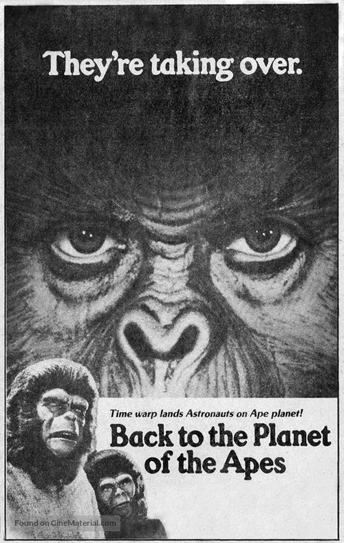 Back to the Planet of the Apes - poster