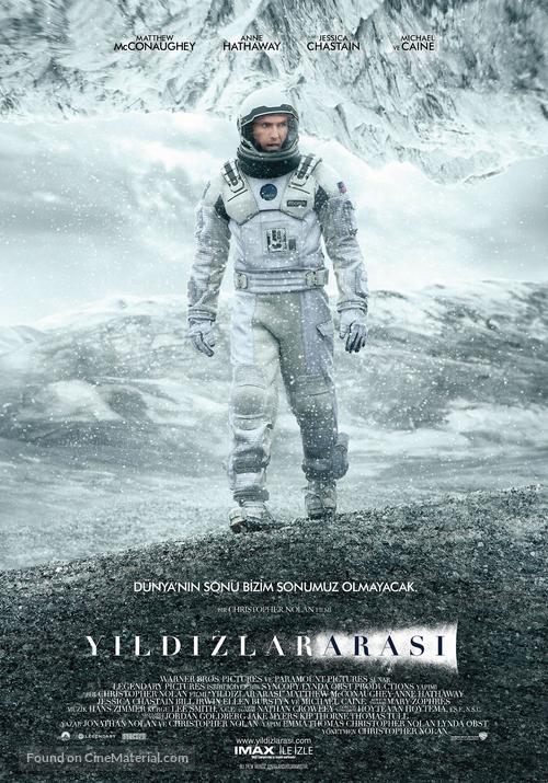 Interstellar - Turkish Movie Poster