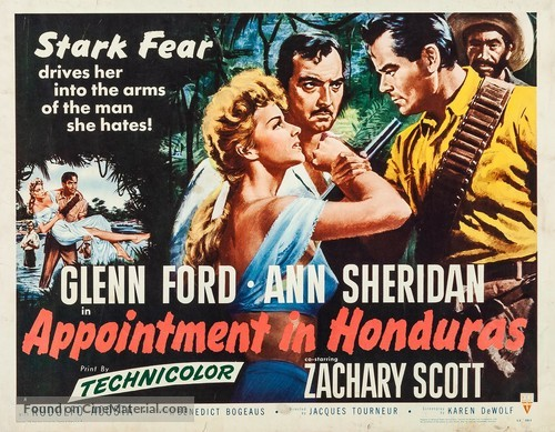 Appointment in Honduras - Movie Poster