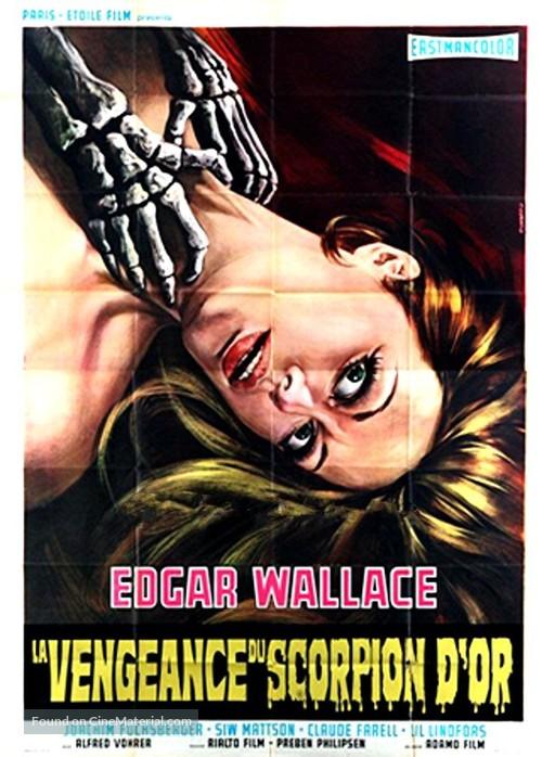 Im Banne des Unheimlichen - French Movie Poster