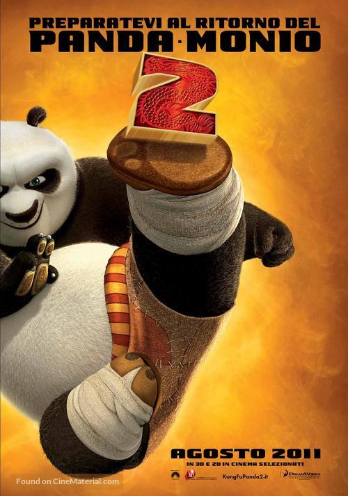 Kung Fu Panda 2 - Italian Movie Poster