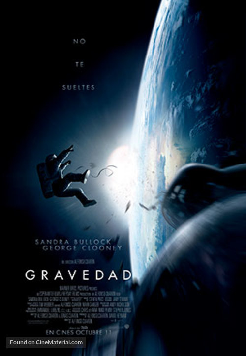 Gravity - Colombian Movie Poster
