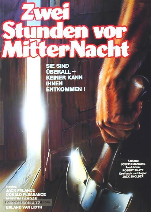 Alone in the Dark - German Movie Poster