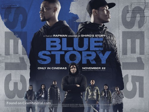Blue Story - British Movie Poster