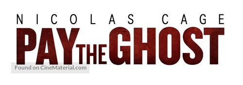 Pay the Ghost - Russian Logo