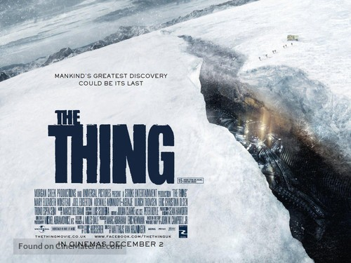 The Thing - British Movie Poster