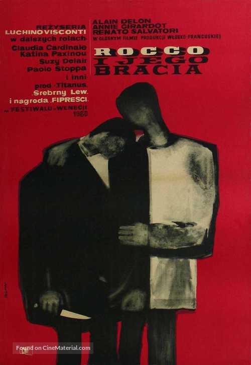 Rocco e i suoi fratelli - Polish Movie Poster