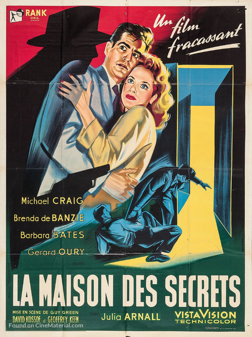 House of Secrets - French Movie Poster
