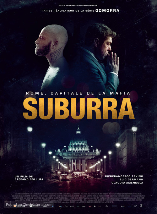 Suburra - French Movie Poster