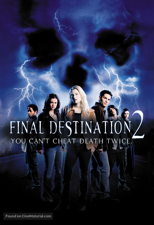 Final Destination 2 - DVD movie cover