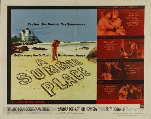 A Summer Place - Movie Poster