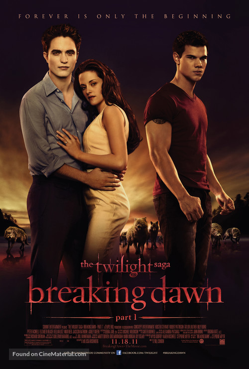 The Twilight Saga: Breaking Dawn - Part 1 - Movie Poster