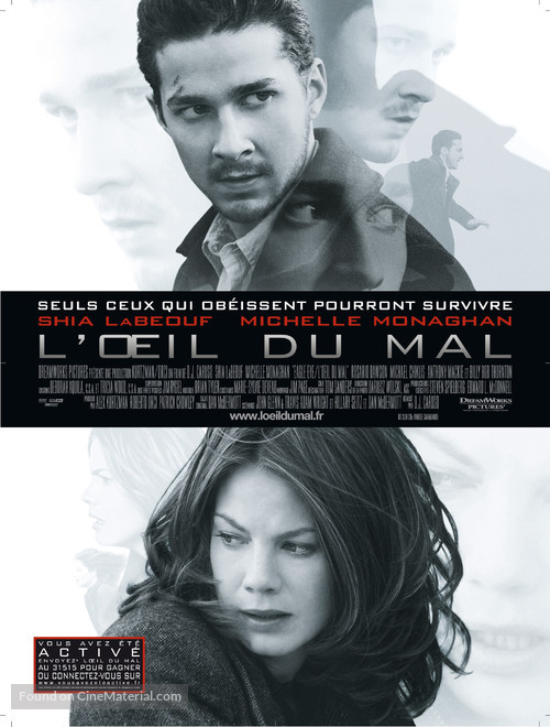 Eagle Eye - French Movie Poster