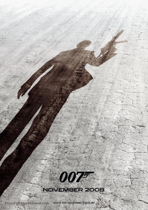Quantum of Solace - German Movie Poster