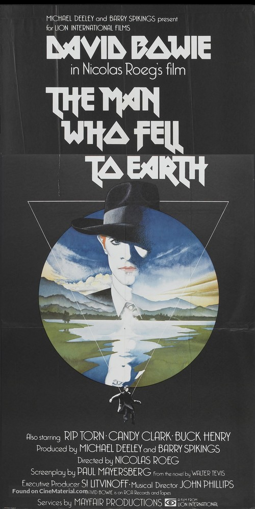 The Man Who Fell to Earth - British Movie Poster