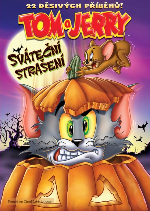 """Tom and Jerry Tales"" - Czech DVD movie cover"