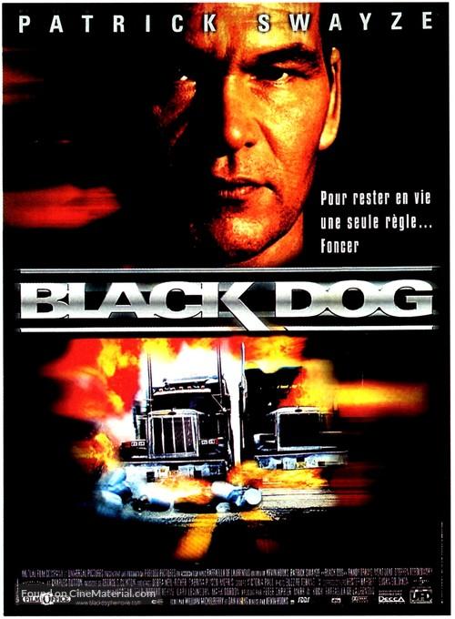 Black Dog - French Movie Poster