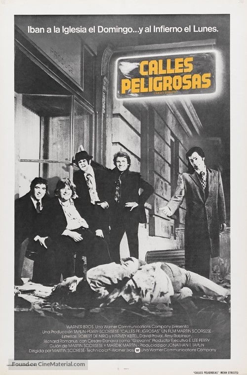 Mean Streets - Puerto Rican Movie Poster