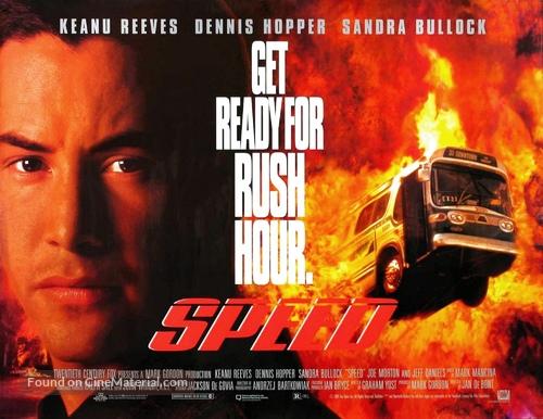 Speed - British Movie Poster