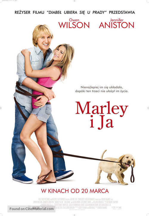 Marley & Me - Polish Movie Poster