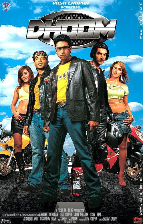 Image result for dhoom poster