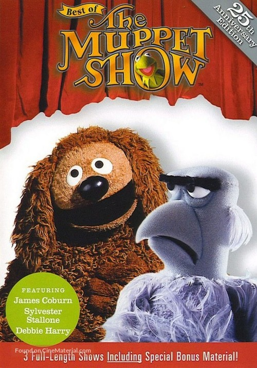 """""""The Muppet Show"""" - DVD movie cover"""