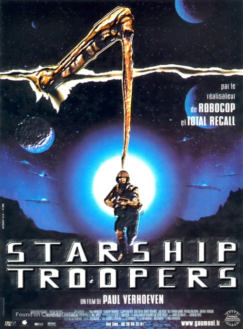 Starship Troopers - French Movie Poster