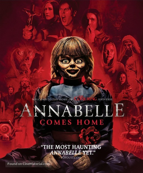 MCPoster The Conjuring Annabelle Movie Poster Glossy Finish FIL833